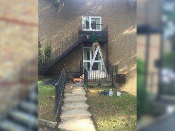 Fire Escape Cleaning & Painting