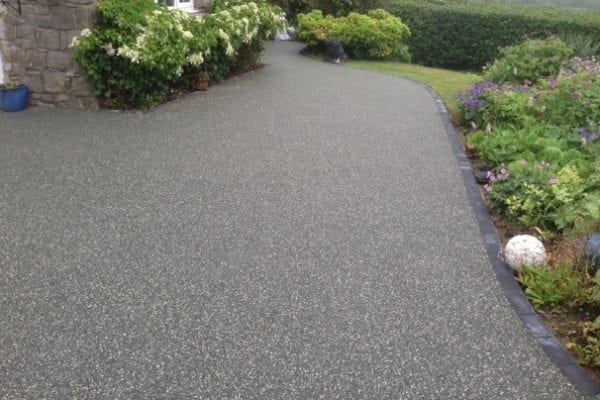 resin bound driveway front